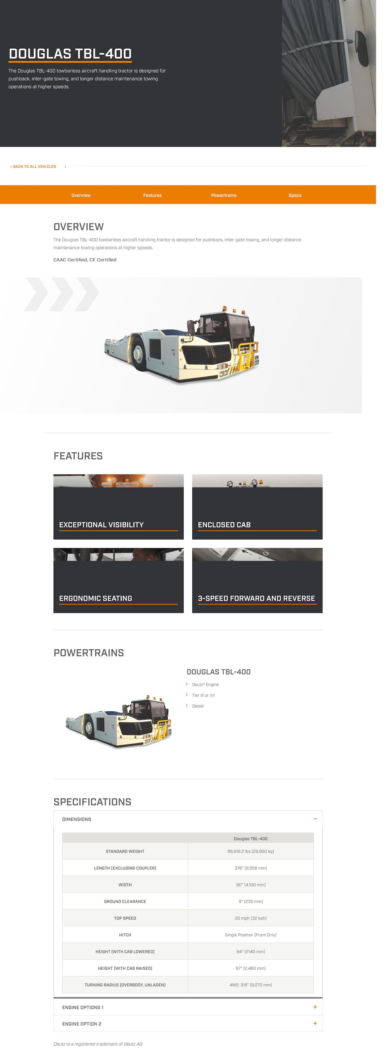 TBL-400 | Textron GSE_00